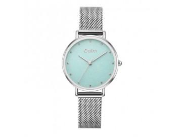 Relógio Lady Oulm HT3671- Prata e Turquesa