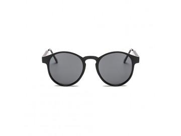 Óculos de Sol Vintage Round - Preto