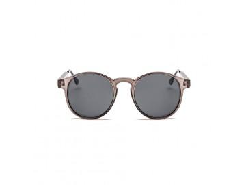 Óculos de Sol Vintage Round - Marrom Conhaque