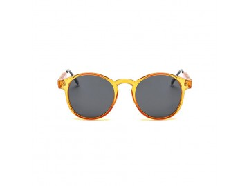 Óculos de Sol Vintage Round - Laranja