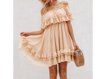 Vestido Pretty Bege