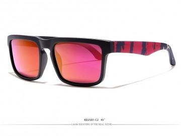 Óculos de Sol KDEAM - Bowie Preto Lentes Pink