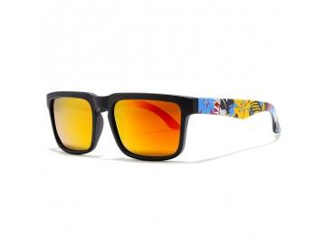 Óculos de Sol KDEAM - Colored Lentes Laranja