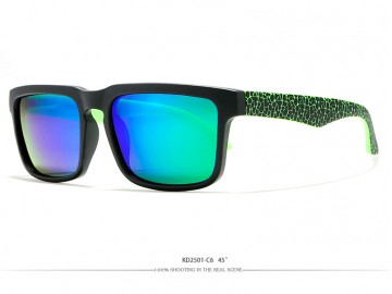 Óculos de Sol KDEAM - Space Green Lentes Azul