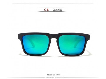Óculos de Sol KDEAM - Space Green Lentes Azul