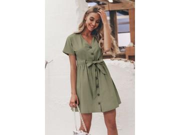 Vestido Sweet - Verde Militar