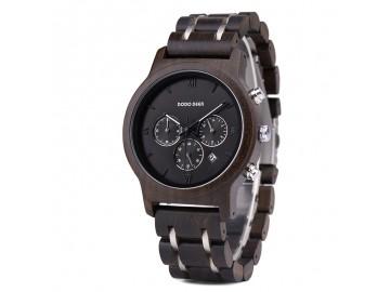 Relógio Masculino Dododeer-B12 Fundo Preto