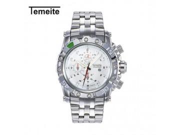 Relógio Temeite Masculino Quartzo Á Prova D Água - Branco