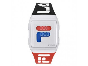 Relógio Digital Esportivo - Preto/Vermelho