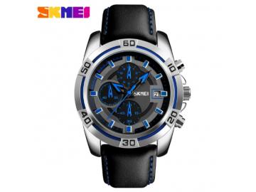 Relógio Masculino Skmei Chornograph Multicolor Dial - 9156 - Azul