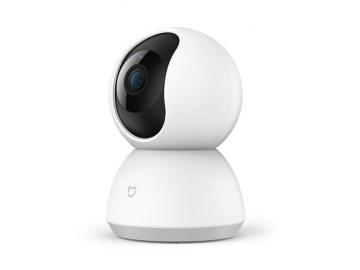 Câmera Xiaomi Mijia Wifi 360 1080P, Compatível com Alexa
