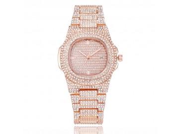 Relógio ICE Bling Full Diamond 300KLAB - Rose