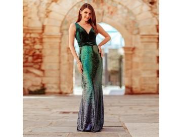 Vestido Longo Shine - Verde