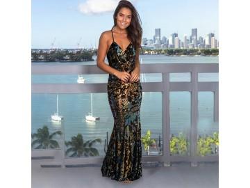 Vestido Golden Mermaid