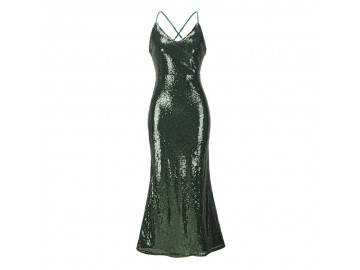 Vestido Shining Mermaid - Verde