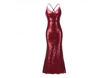Vestido Shining Mermaid - Vermelho