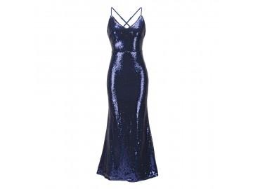 Vestido Shining Mermaid - Azul