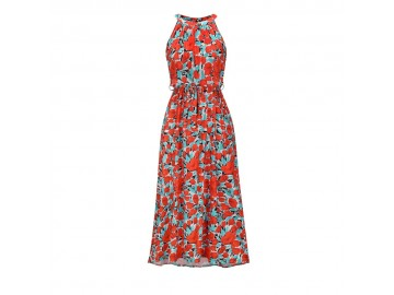 Vestido Santorini - Vermelho