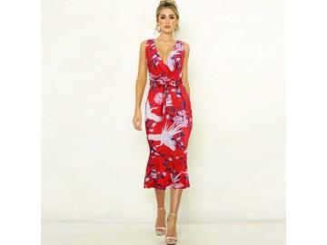 Vestido Veneza - Vermelho