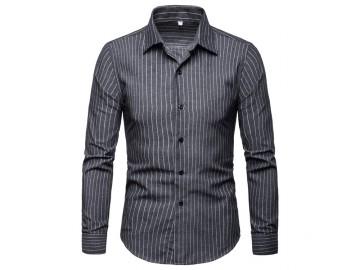 Camisa Social Cannes - Cinza Escuro