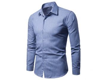 Camisa Social Cannes - Azul Claro