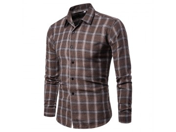 Camisa Xadrez Callander - Marrom