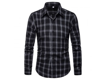 Camisa Xadrez Callander - Preto