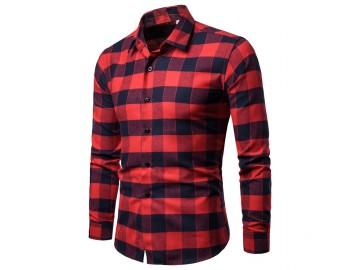 Camisa Xadrez Glasgow - Vermelho