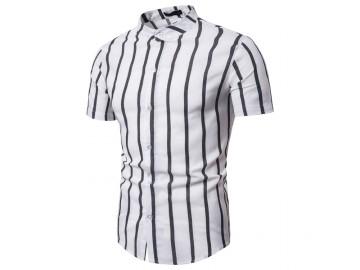 Camisa Vintage Stripes - Branco
