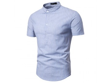 Camisa Listrada Nottingham - Azul