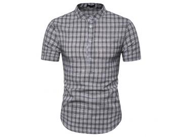 Camisa Xadrez York - Preto