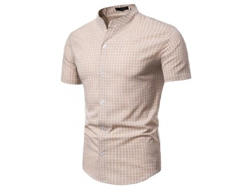 Camisa Xadrez Kingston - Khaki