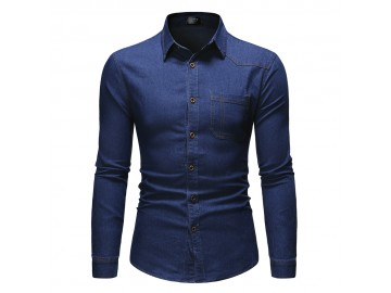 Camisa Portland - Azul