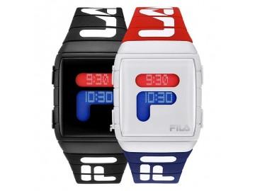 Combo 2 Relógios Digital Esportivo - Vermelho/Branco e Preto