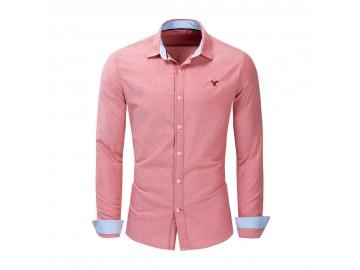 Camisa Social American Oxford - Salmão