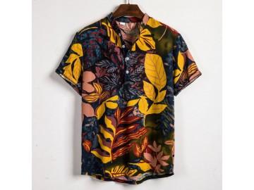 Camisa Havaiano Henley - Nature