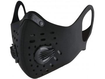 Máscara Lavável N95 com Filtro de Carvão Anti-poluição - Preto