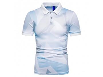 Camisa Polo Estampada Future - Branco