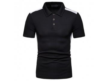 Camisa Polo Vintage School - Preto