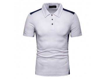 Camisa Polo Vintage School - Branco