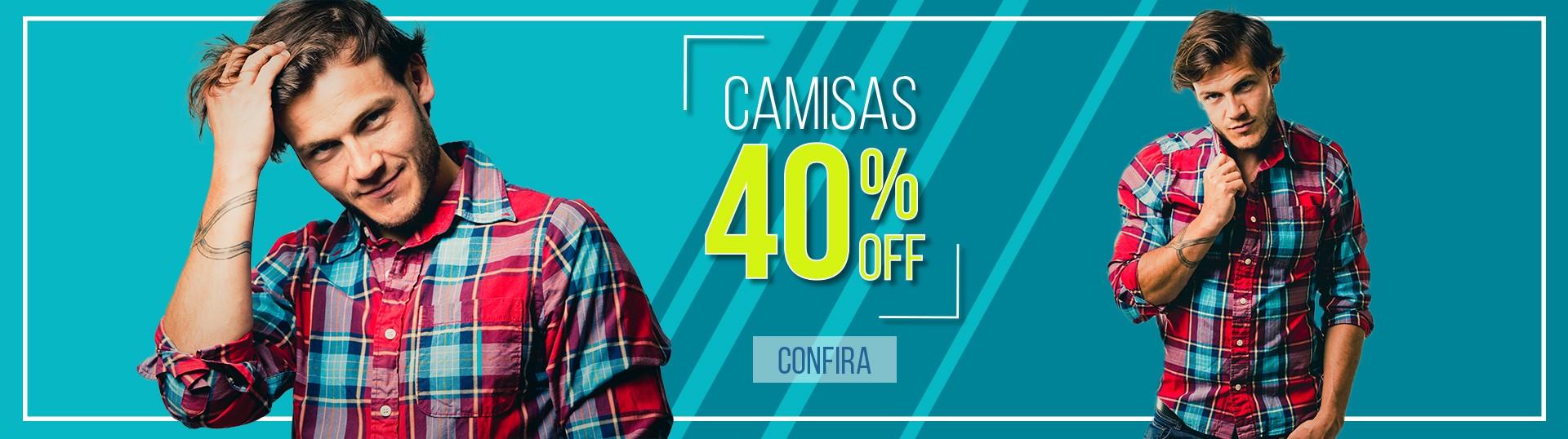 Camisas 40%off